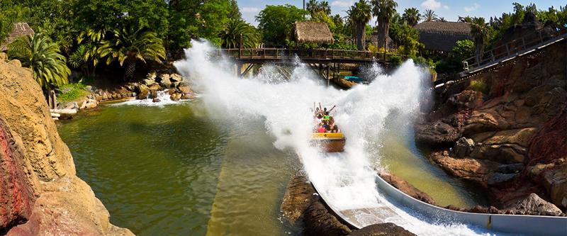 atracciones de port aventura. Tutuki splash
