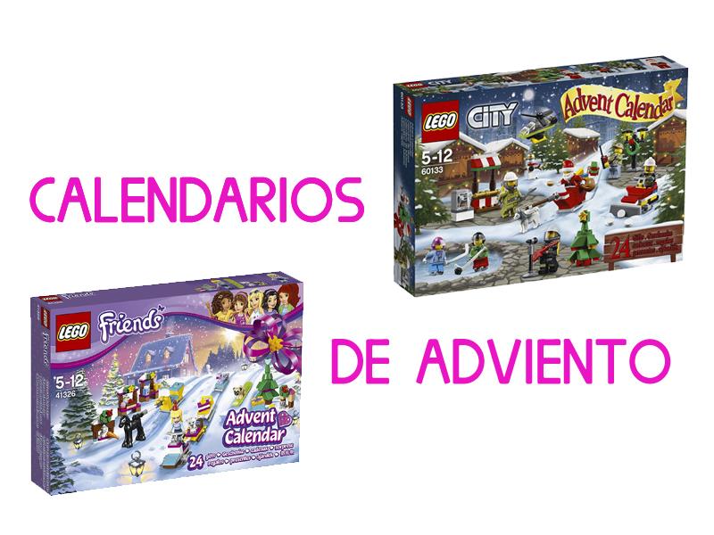 Calendarios de Adviento de Lego y Playmobil