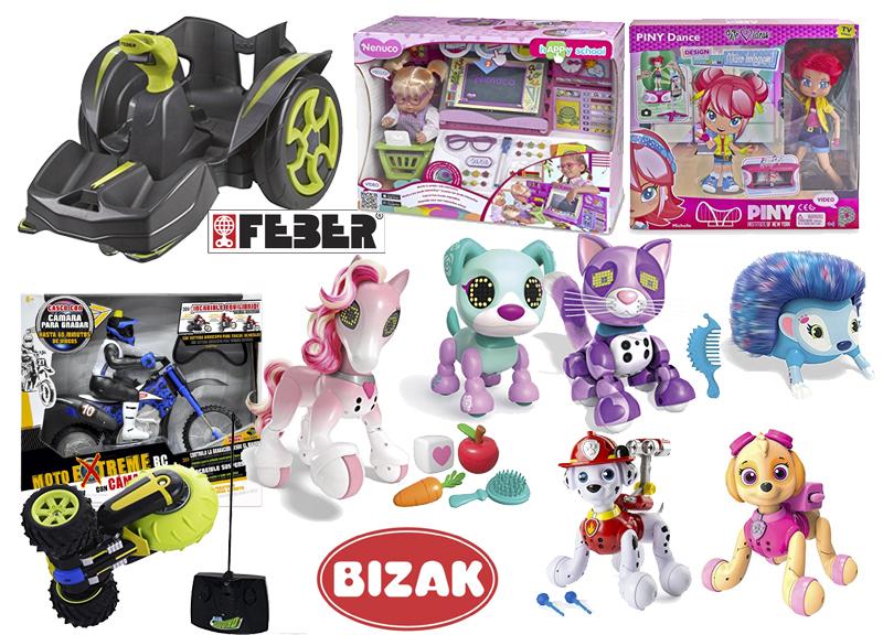 juguetes estrella feber Bizak