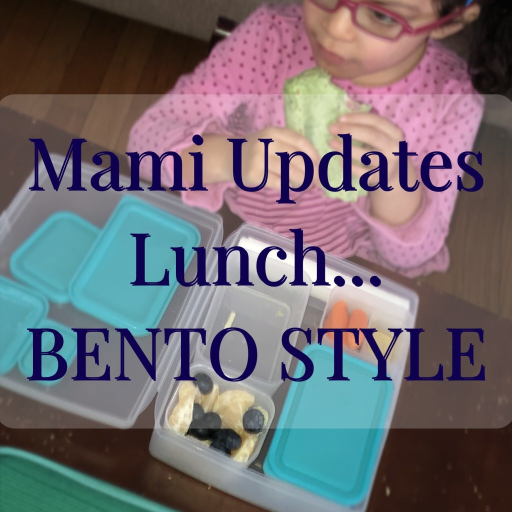 Mami Updates Lunch… Bento Style!