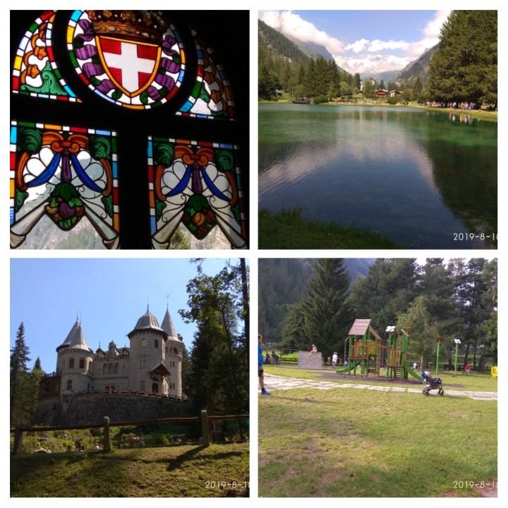Castel Savoia Valle d'Aosta