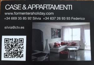 contatto formentera case & appartamenti