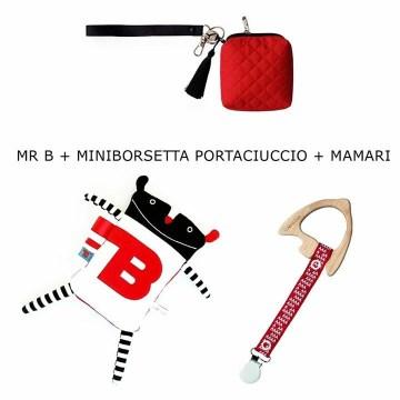 lullalove trio mr b. mamari borsetta