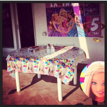 tema festa barbie
