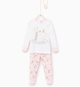 Pigiama unicorni bambina Zara