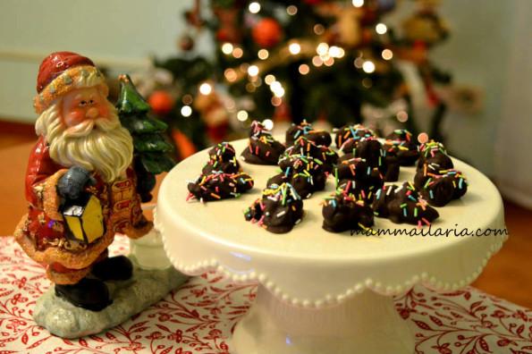 cioccolatini con mandorle e nocciole