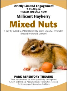 Mixed Nuts Stage Play Poster