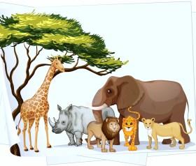 Park Animals gather