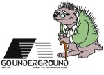 Wednesday Rewind: The new face of GoUnderground: Hieronymous Hedgehog