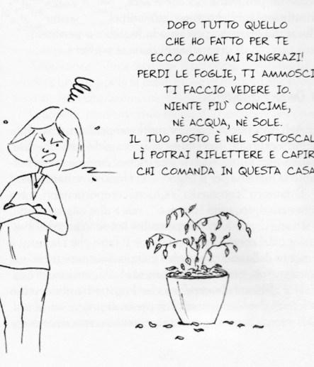 bambini e piante