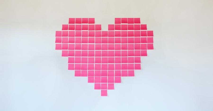 heart_wall_post-it