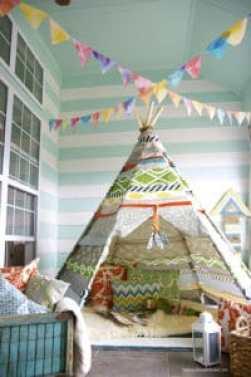Attività ricreative per bambini: come fare un campeggio – safari in casa