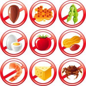 allergiealimentari 300x300 - Intolleranze alimentari nei bambini: vero o falso