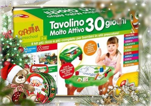 Natale con Lisciani Giochi Astronave ABC e Tavolino Molto Attivo 30 Giochi