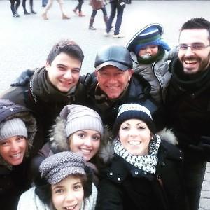 famiglia a budapest