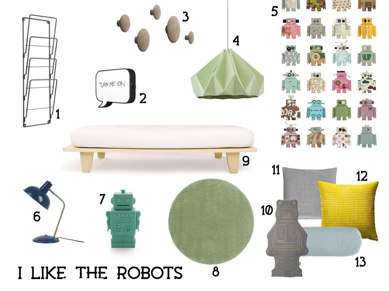 cameretta robot