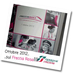 Mammechefatica viaggia sul Freccia Rosa, inserto del Magazine Le Frecce di Trenitalia!