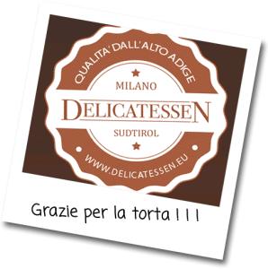Grazie per la torta, amici di Delicatessen!