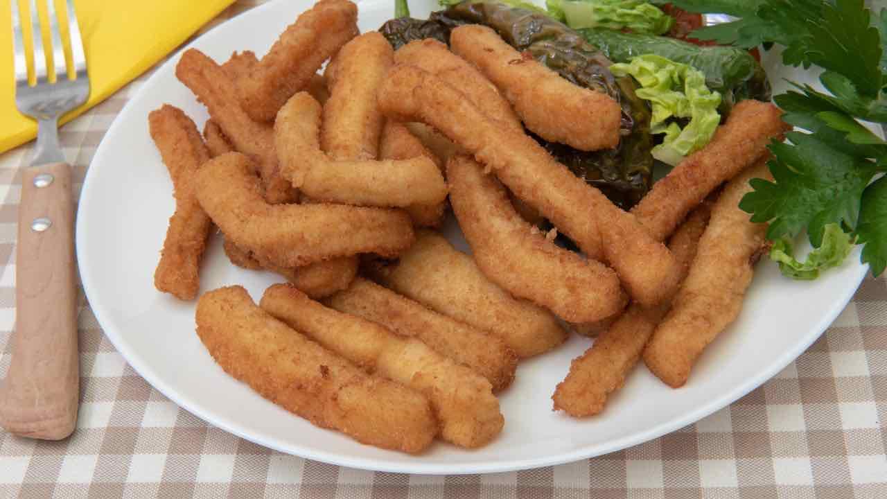 ricetta patatine di pesce
