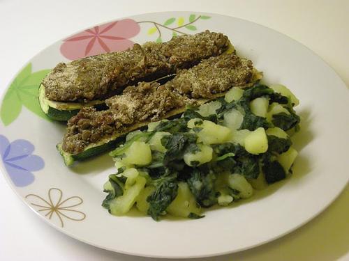 Barchette di zucchine al forno. [FOTOricetta]