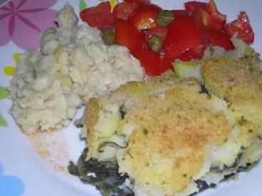 Sformato cicoria e patate