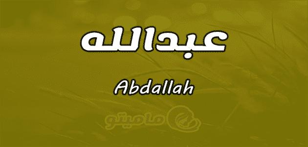 تدريجيا ضحية توجيه ترجمة عبدالله بالانجليزي Comertinsaat Com