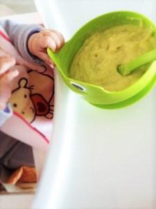 lo svezzamento pappa con multicereali e verdure