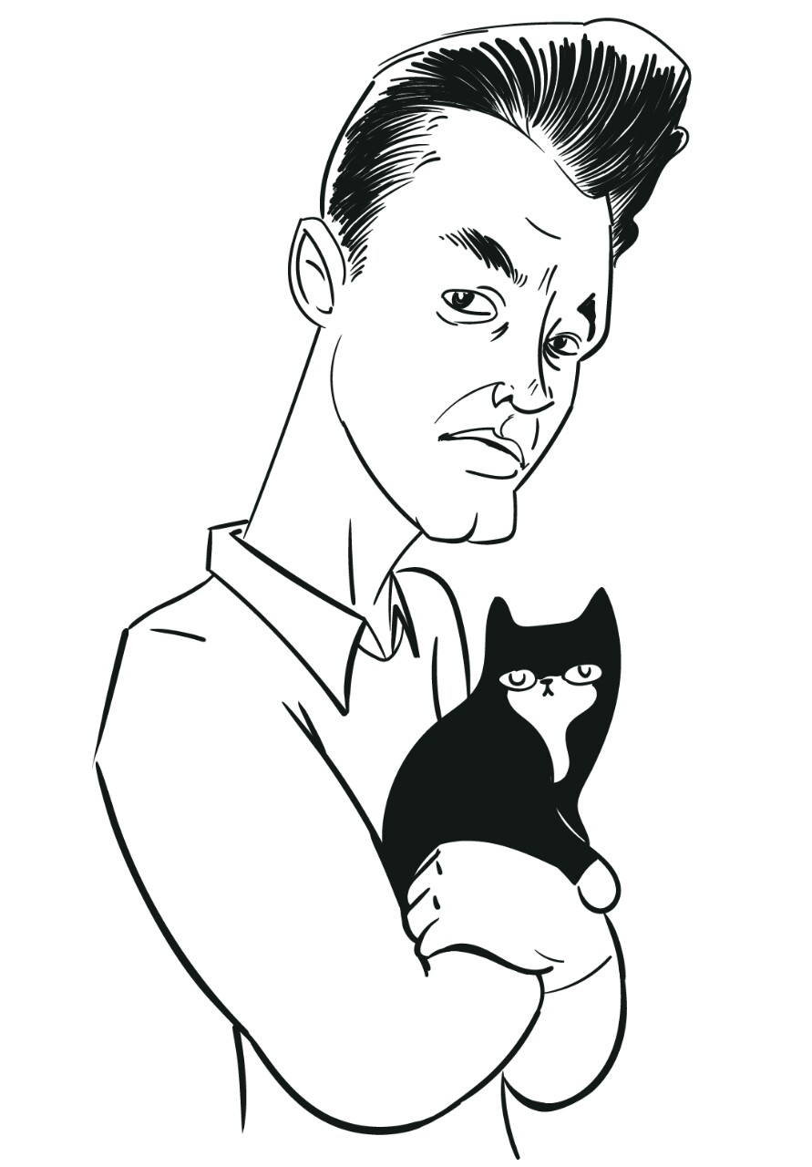 morrissey-with-cat