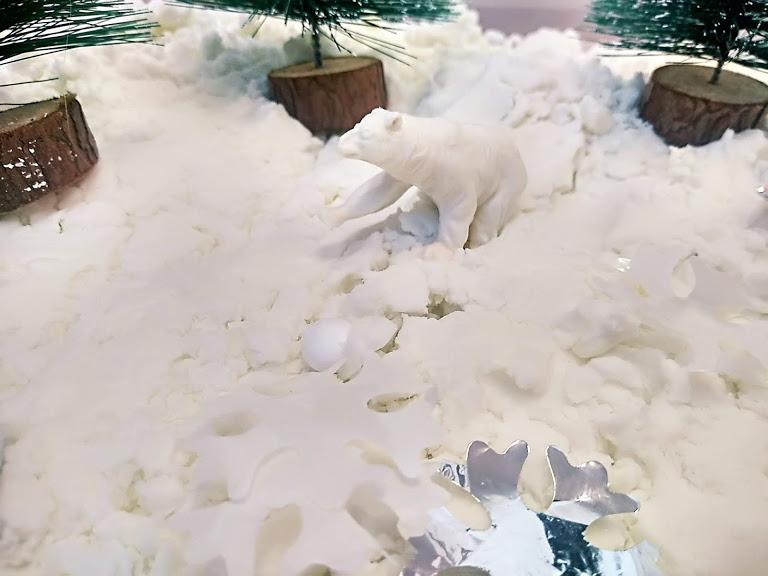 śnieg z mąki