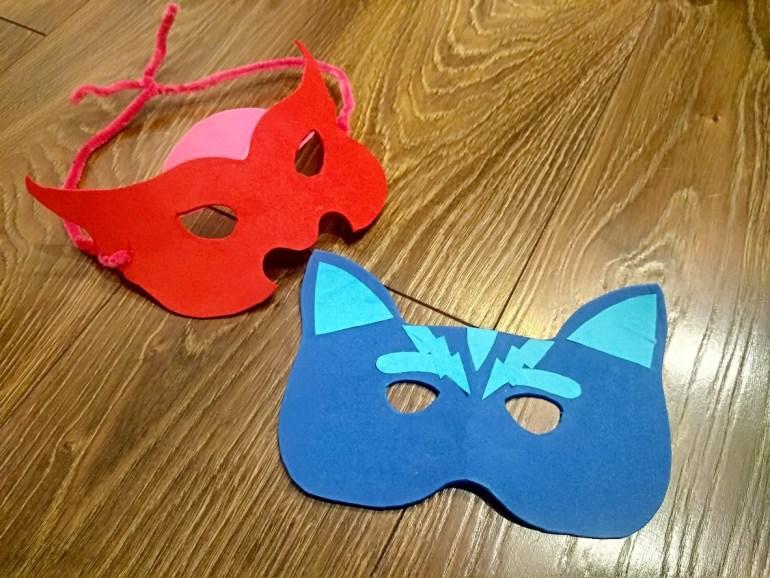 maski pidżamersów diy