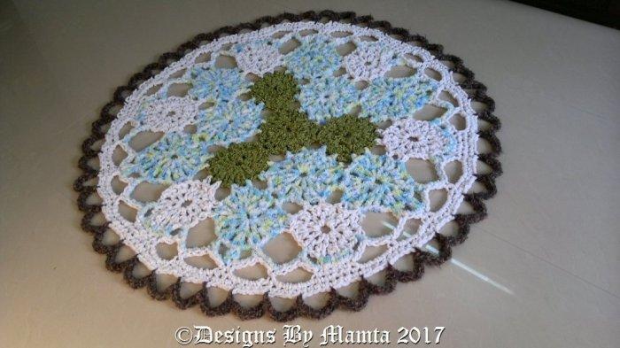 Chunky Crochet Doily