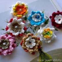 Crochet Flower Pattern A Million Lotuses