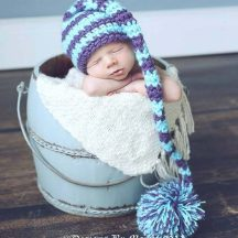 Crochet Stocking Cap Pattern