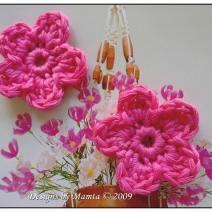 Five Petal Crochet Flower Pattern