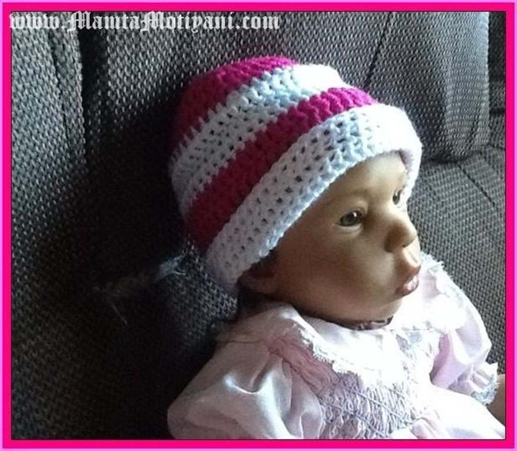 Free Crochet Hat Pattern For Newborn