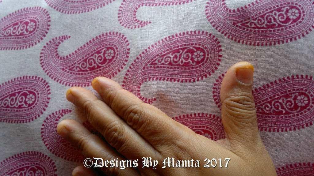 Indian Sari Fabric By The Yard