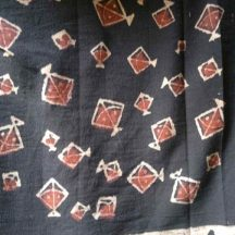 Kite Design Indian Ajrak Print Fabric
