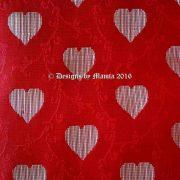 Red Sari Fabric