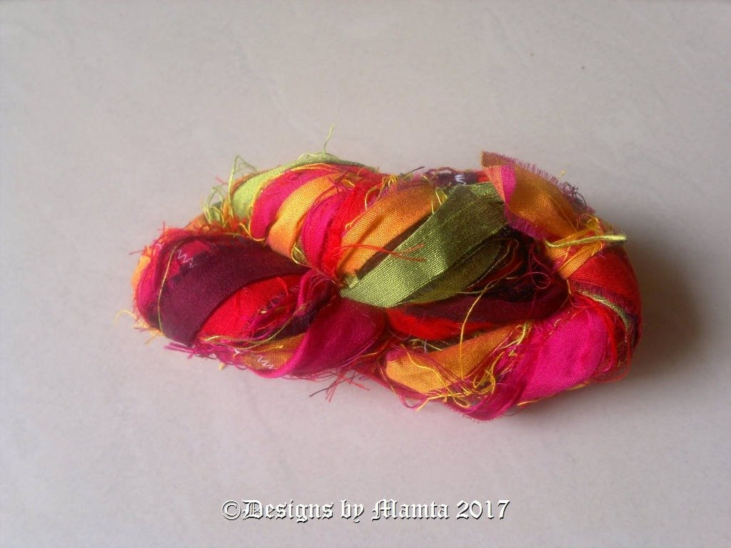 Sari Yarn Ribbon