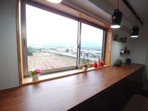喫茶店の窓