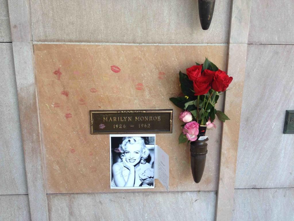 Marilyn Monroe Westwood Village Memorial Park Cemetery