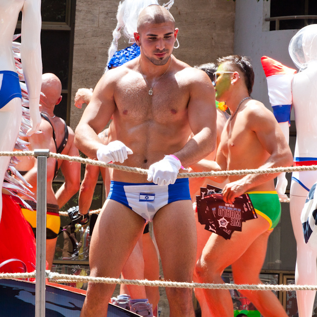 Tel Aviv Pride as seen in  ManAboutWorld gay travel magazine