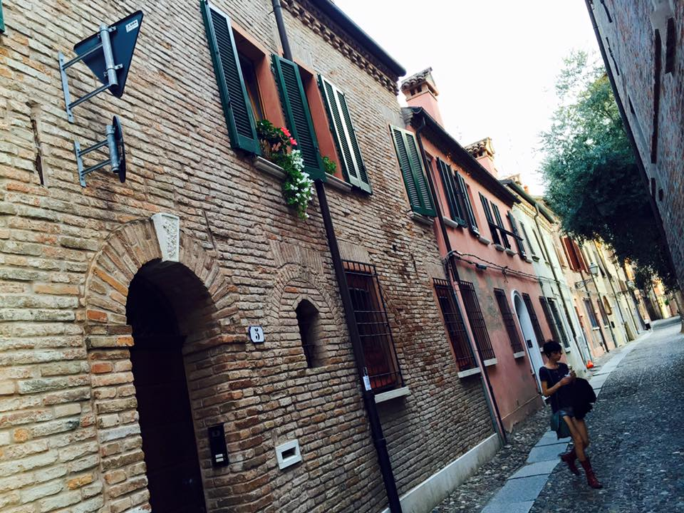 A beautiful street in Bologna, (Emilia-Romagna) Italy, ManAboutWorld gay travel magazine