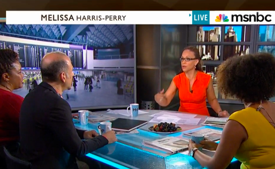Billy Kolber, publisher of ManAboutWorld gay travel magazine speaks with Melissa Harris-Perry on MSNBC