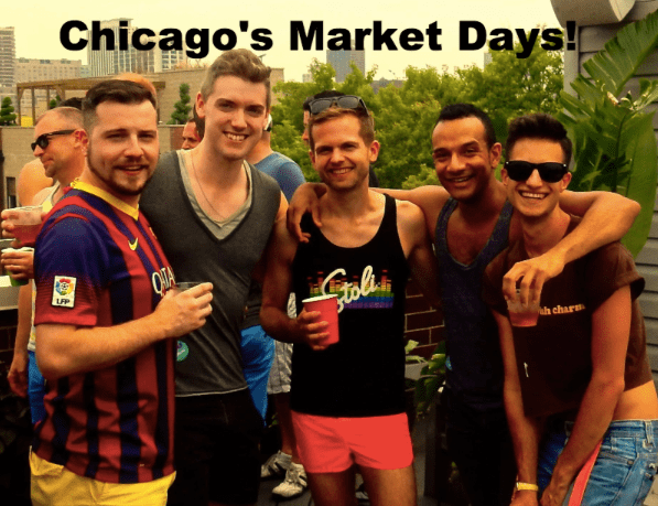 Chicago's market place and more in this gay travel news update, ManAboutWorld gay travel magazine