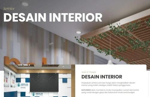 Kayuarus – Kontraktor Interior dan Furniture [Rumah & Kantor]