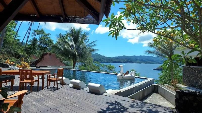 Lembeh Hills Resort hotel budget di manado