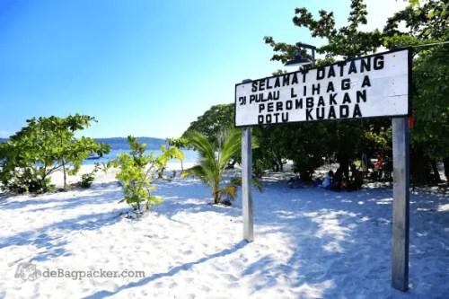 Pulau Lihaga Destinasi Wisata Baru Manado