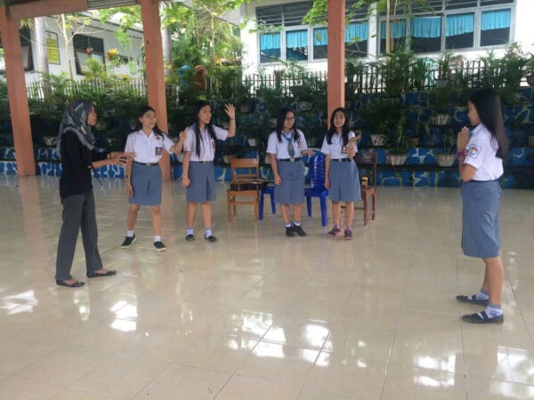 SMAN 4 Manado di Festival Teater Pelajar Tingkat Nasional