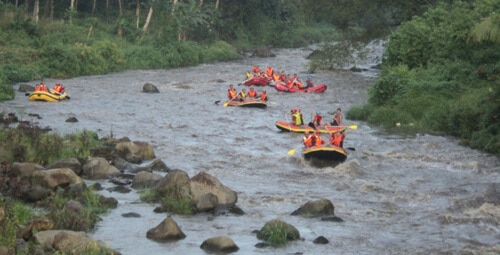 Sungai Nimanga Arung Jeram Timbukar